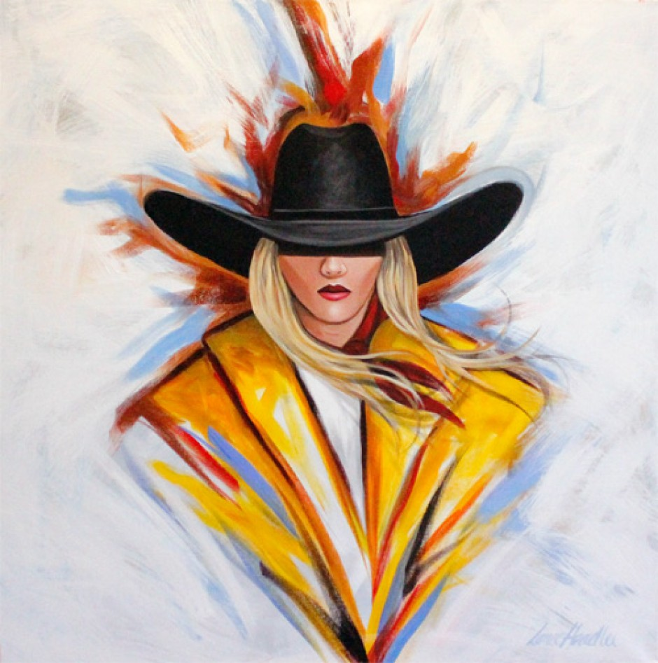Painted Cowgirl 500